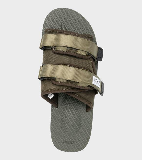 Suicoke - Moto-Cab Sandals New Olive