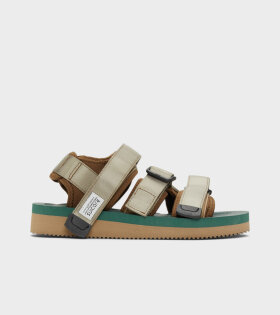 Suicoke - Kisee-V Sandals Khaki/Green