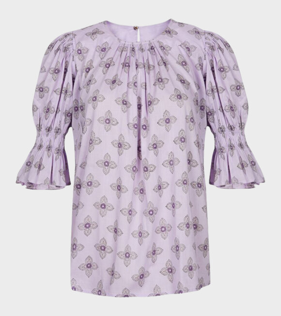 Malie - Mount Top Lilac Handblock