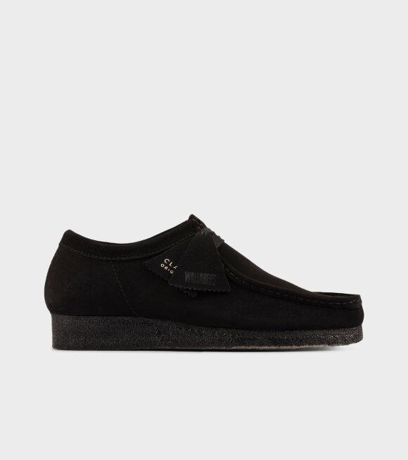 Clarks - Wallabee Shoes Black
