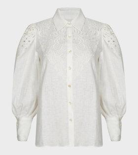 Malie - Prairie Shirt Crisp White