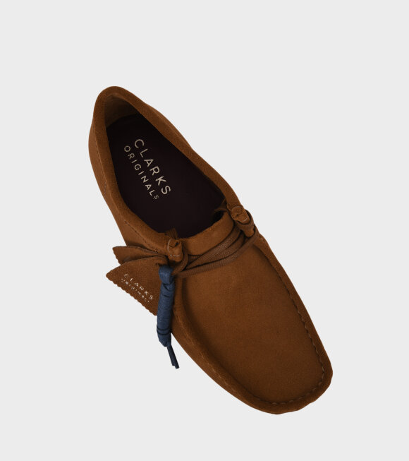 Clarks - Wallabee Shoes Cola