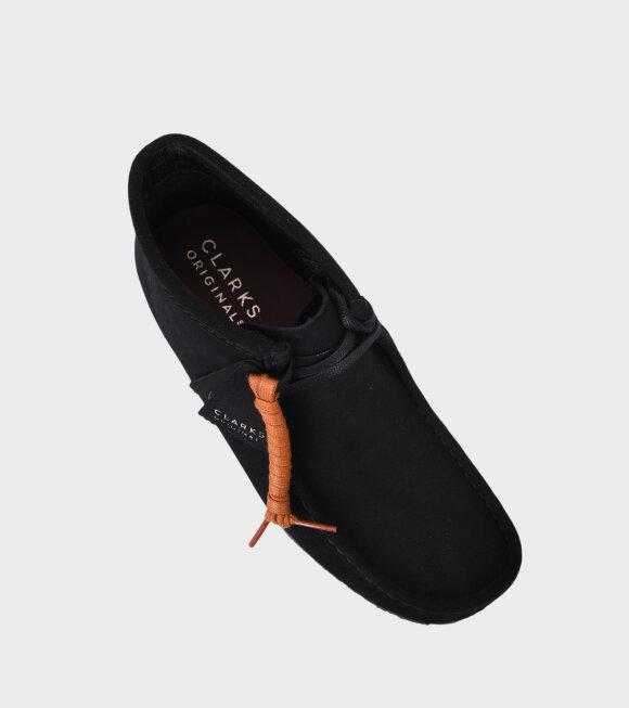 Clarks - Wallabee Boot Black