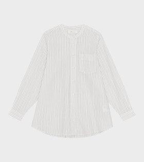 Skall Studio - Maggie Shirt Stripe White/Grey
