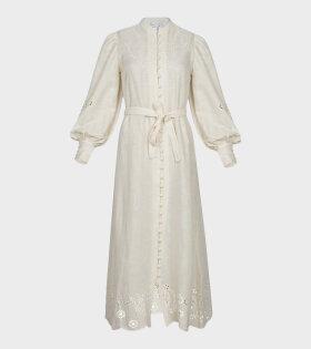 Malie - Phony Dress Cream White
