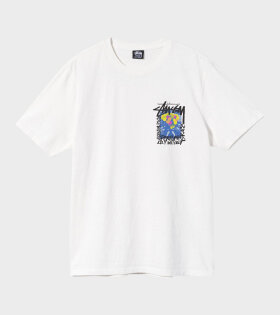 Stüssy - Camellias Pig Dyed Tee Natural
