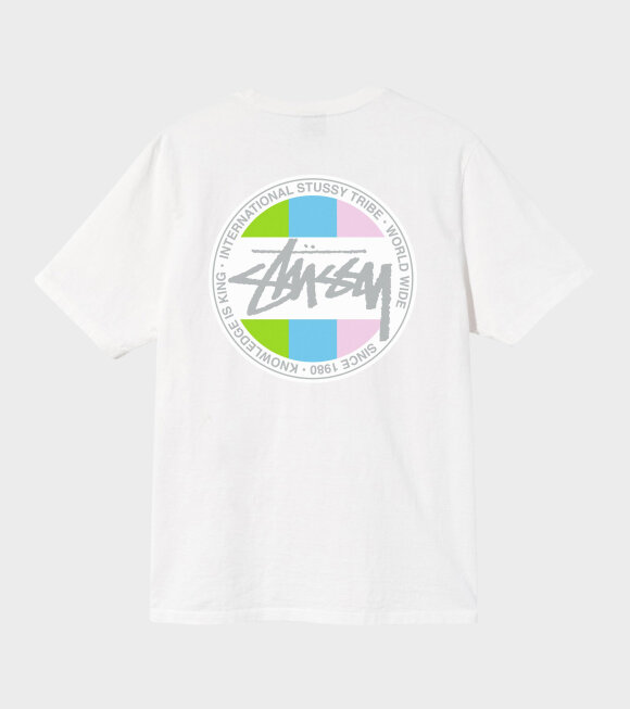 Stüssy - Classic Dot Pig Dyed Tee Natural