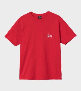 Stüssy - Basic Stussy Tee Red