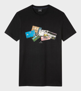 Paul Smith - Credit Cards T-shirt Navy