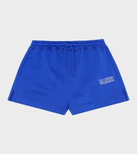Ganni - Software Shorts Blue