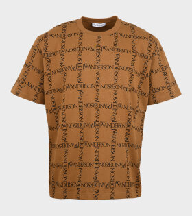 JW Anderson - Oversize T-shirt Tobacco