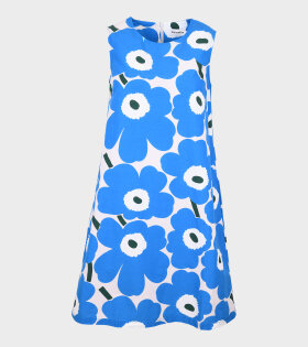 Marimekko - Laineet Pieni Unikko 2 Dress Blue