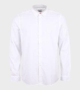 Paul Smith - LS Reg Fit Shirt White
