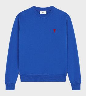 AMI - Ami de Coeur Sweatshirt Blue