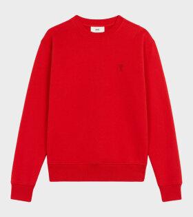 AMI - Ami de Coeur Sweatshirt Red