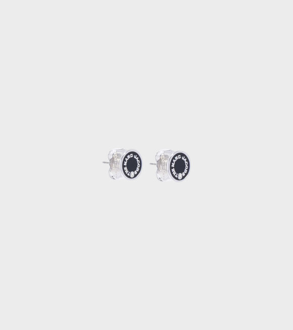 Marc Jacobs - The Medallion Studs Black/Silver