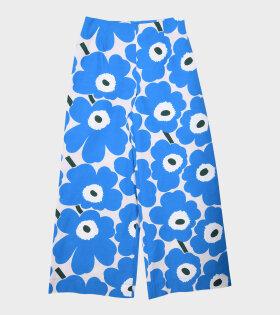 Marimekko - Uneksuu Pieni Unikko 2 Pants Blue