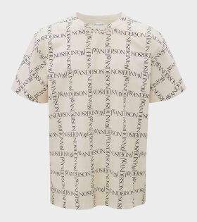 JW Anderson - Oversize T-shirt Ivory