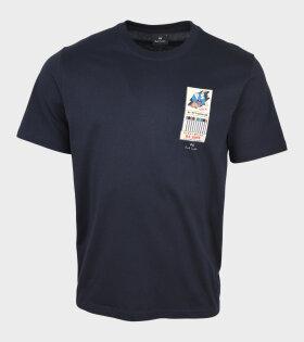 Paul Smith - Matchbook T-shirt Navy