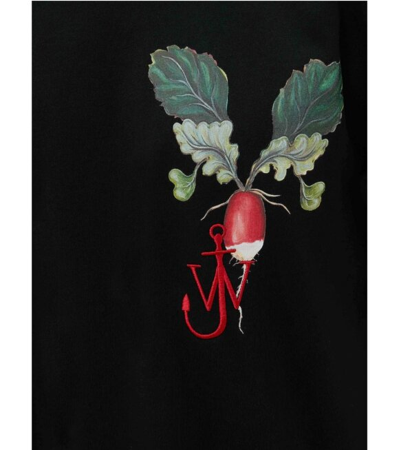JW Anderson - Printed Veggie Logo T-shirt Black