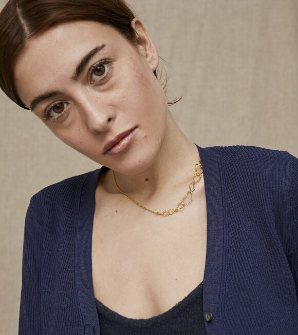 Trine Tuxen - Therese Necklace Goldplated