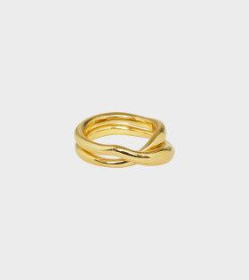Trine Tuxen - Cecilia Ring Goldplated