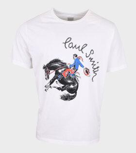 Paul Smith - Cowboy Print T-shirt White
