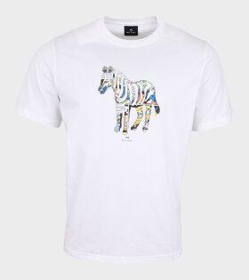 Paul Smith - Multi Zebra T-shirt White