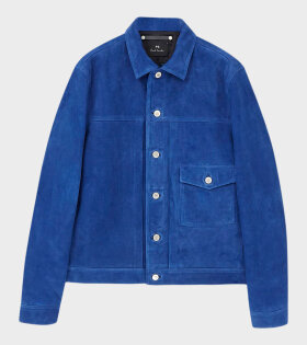 Paul Smith - Suede Lined Jacket Blue