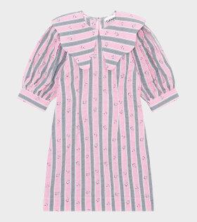 Ganni - Mini Dress Pink Nectar