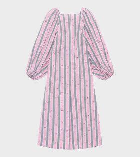 Ganni - Maxi Dress Pink Nectar