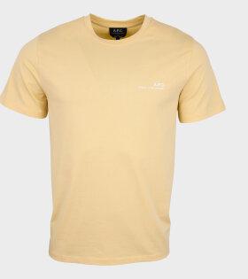 A.P.C - Item T-shirt Yellow