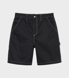 Stüssy - Poly Cotton Work Short Black