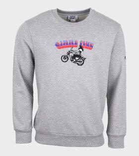 A.P.C - Mika Sweatshirt Grey