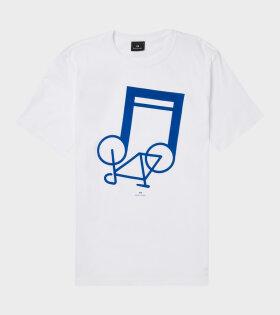 Paul Smith - Notebike T-shirt White