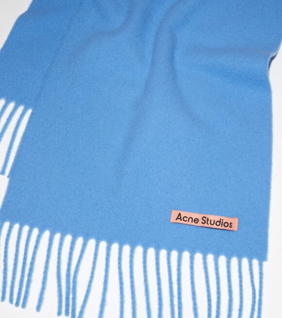 Acne Studios - Canada Skinny Scarf Azure Blue