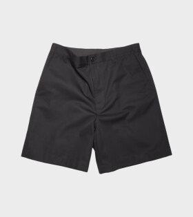 Acne Studios - Cotton Blend Shorts Black