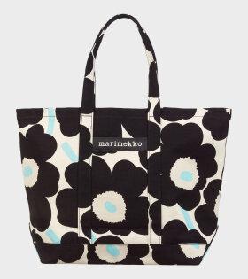 Marimekko - Peruskassi Pieni Unikko Bag Black