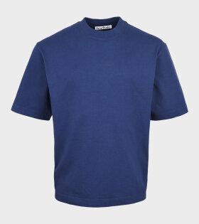 Acne Studios - Logo T-shirt Navy