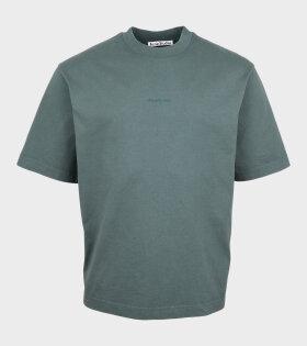 Acne Studios - Logo T-shirt Green