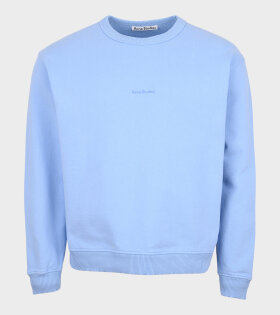 Acne Studios - Logo Sweatshirt Blue