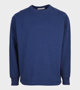 Acne Studios - Logo Sweatshirt Navy