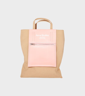 Acne Studios - Mini Tote Bag Brown/Pink