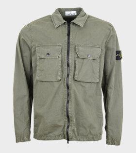 Stone Island - Patch Overshirt Army Green