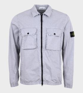 Stone Island - Patch Overshirt Grey