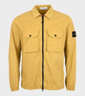 Stone Island - Patch Overshirt Yellow