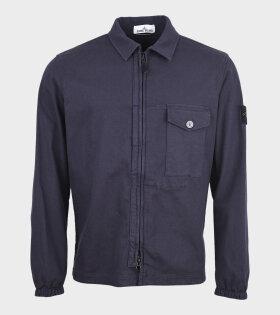Stone Island - Cotton Overshirt Navy