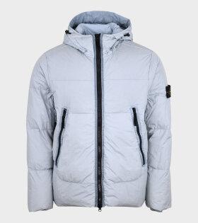 Stone Island - Garment Dyed Jacket Light Blue
