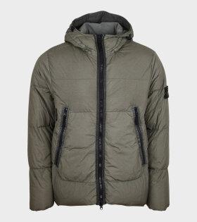 Stone Island - Garment Dyed Jacket Army Green