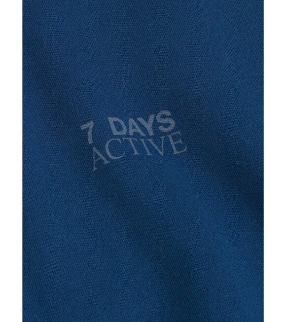 7 Days Active - Monday Crew Neck Estate Blue